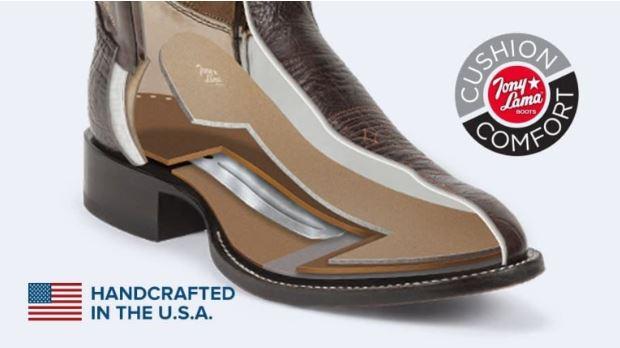 Steel shank boots